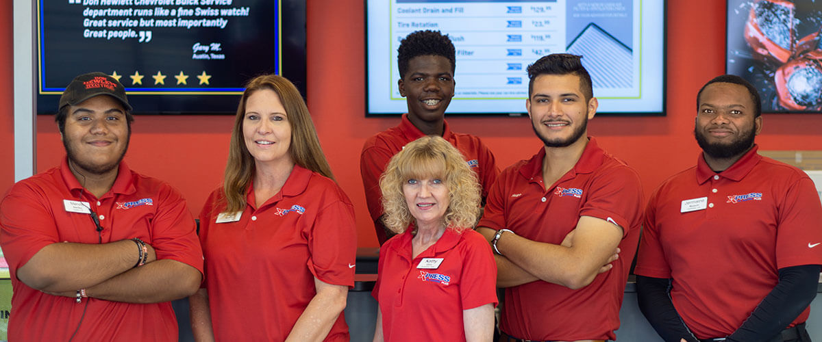 Xpress Oil Change Plus in Georgetown, TX Staff